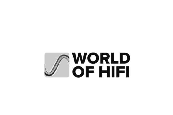 Logo World of Hifi in grau