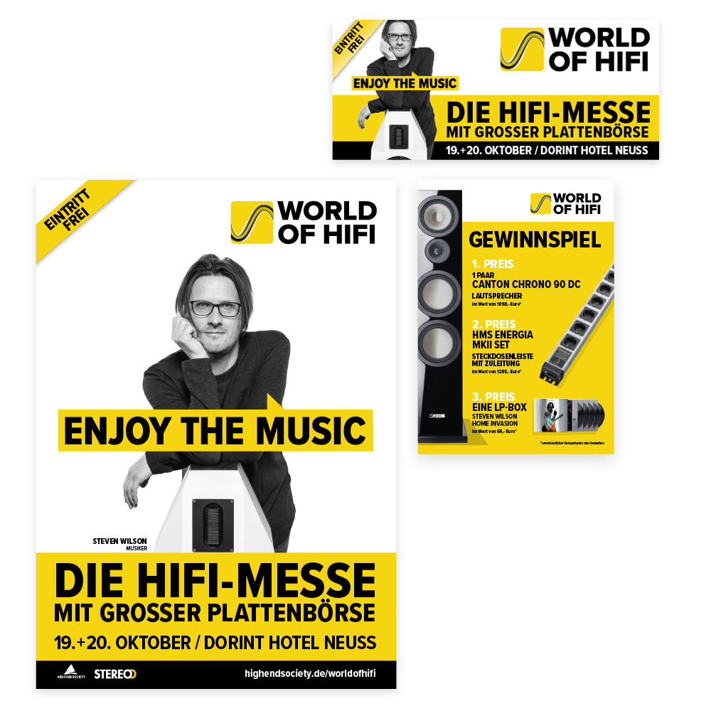 World of Hifi Drucksachen
